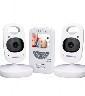 lorex 2 4 sweet peek video baby monitor review. Black Bedroom Furniture Sets. Home Design Ideas