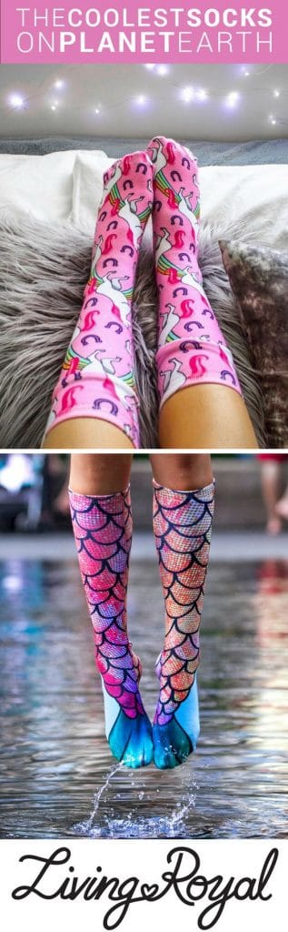 Sock fashion is one of the biggest trends among teens right now. You can't go wrong with this gift idea!