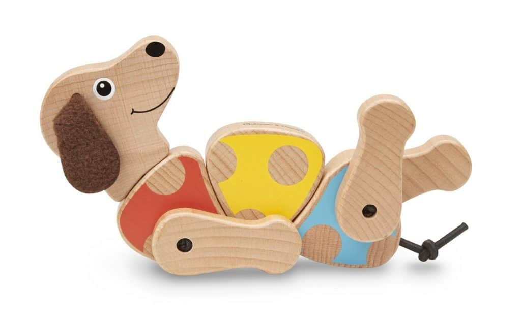 Puppy wooden grasping toy: Your baby can rotate, spin and swivel them as they develop manual dexterity with a toy that's certain to become a favorite