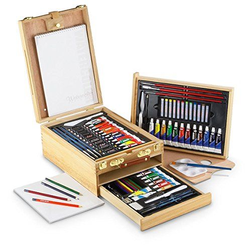 Art supplies are good gift ideas for the aspiring artist. They always needs new pens, paint brushes, or paper