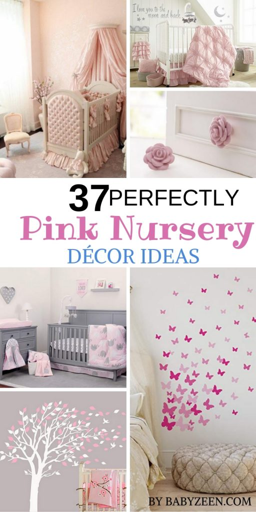 If you have decided on a pink nursery but need help with the planning, here are some great pink nursery ideas to get your creative juices flowing
