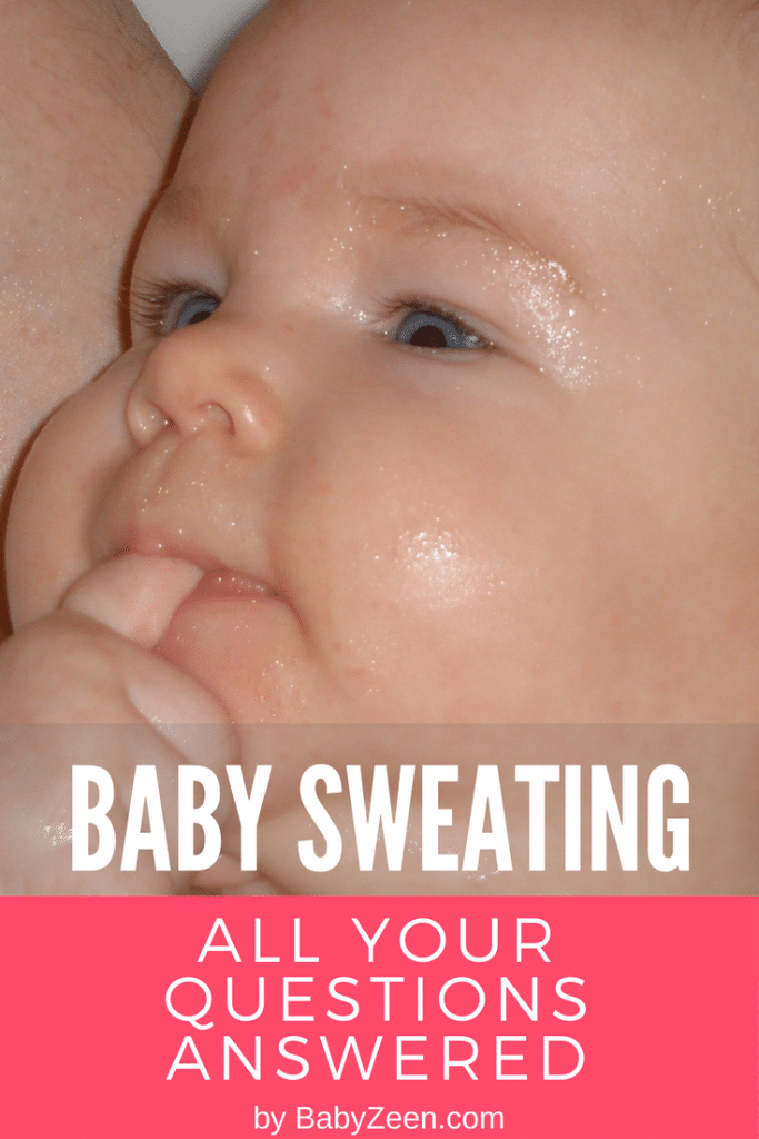 Does your baby's sweating need attention? Baby head sweating while breastfeeding? Baby sweating while crying? All your questions on baby sweating answered in this article. [READ MORE HERE]